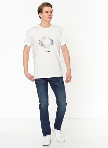 Hummel Erkek Tişört Zadoc 911061-9003 Beyaz